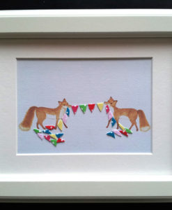 foxes and bunting