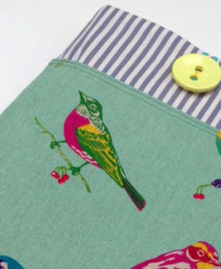 green birds ipad cover